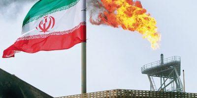 نقشه گازی ایران و روسیه