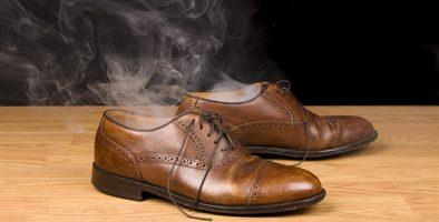 روش های برای رفع بوی پا