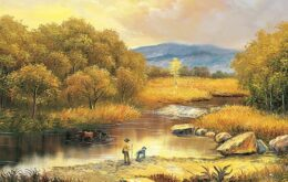 انشا درمورد گذر از رودخانه