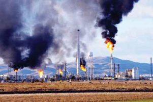 تاثیر الایندگی گاز فلر بر سلامت انسان