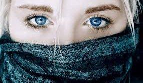 انشا درمورد چشمان آبی
