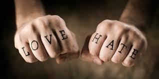 سنجش و مقایسه انشا عشق و نفرت
