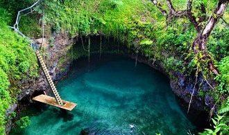 جزیره ساموا در اقیانوس آرام