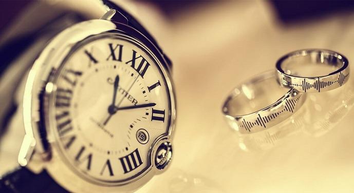فال جفت شدن ساعت