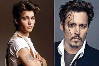 تاثیر زمان بر چهره ستارگان مشهور دنیا