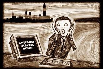 حل مشکل عدم اتصال به اینترنت