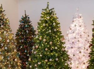 تزئین درخت کریسمس
