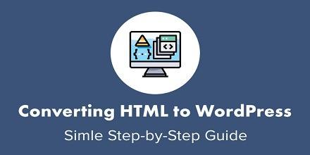 مراحل تبدیل HTML به قالب وردپرس