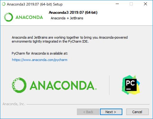 آموزش نصب آناکوندا در ویندوز