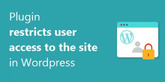 افزونه محدود کردن دسترسی کاربر به سایت