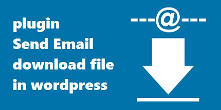 افزونه ارسال ایمیل دانلود فایل