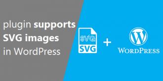 افزونه پشتیبانی از تصاویر SVG در وردپرس