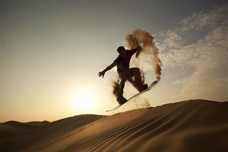 بهترین ورزش های ماجراجویانه در دبی