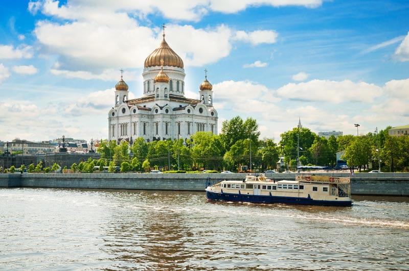 سرگذشت کلیسای عیسی منجی مسکو