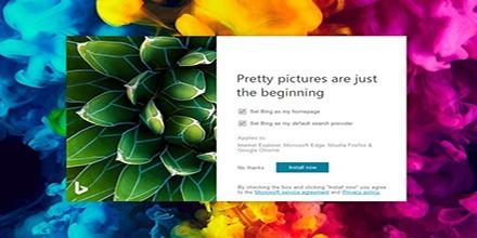 دریافت والپیپرهای بینگ با Bing Wallpaper