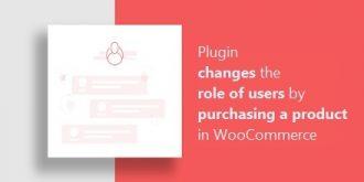 افزونه تغییر نقش کاربران با خرید محصول