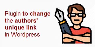 افزونه تغییر پیوند یکتاهای نویسندگان