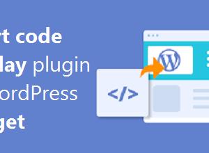 افزونه نمایش کد کوتاه در ابزارک وردپرس