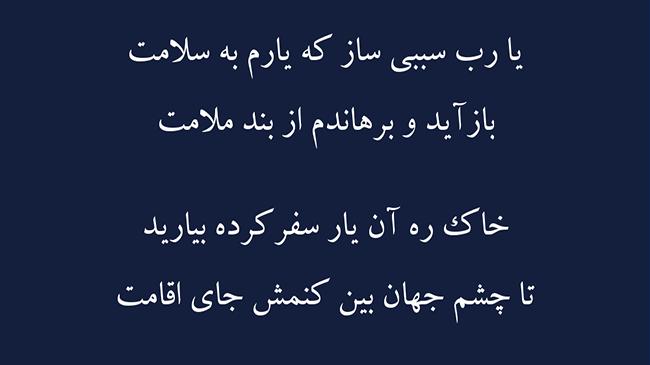 غزل خم ابروی ساقی - فال حافظ