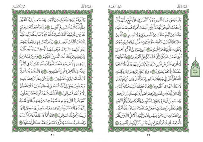 صفحه 19 قران (سوره بقره) – استخاره با قران
