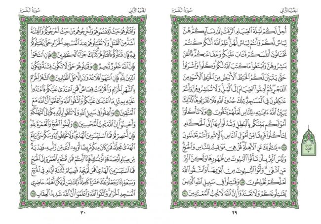 صفحه ۲۹ قران (سوره بقره) – استخاره با قران