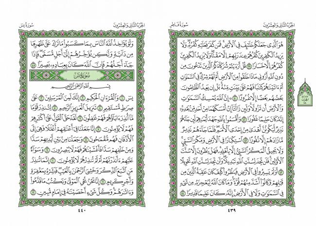 صفحه 439 قران (سوره فاطر) - استخاره با قران