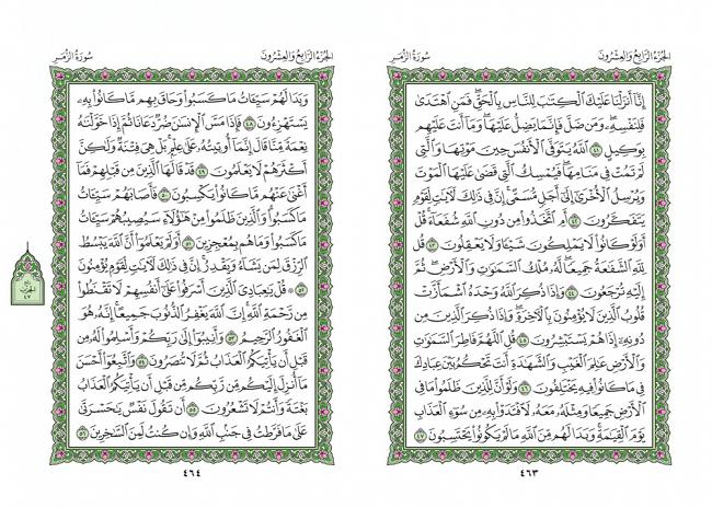 صفحه 463 قران (سوره زمر) - استخاره با قران
