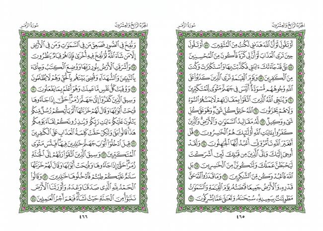 صفحه 465 قران (سوره زمر) - استخاره با قران